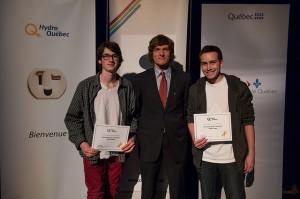 Prix de participation Hydro 2015
