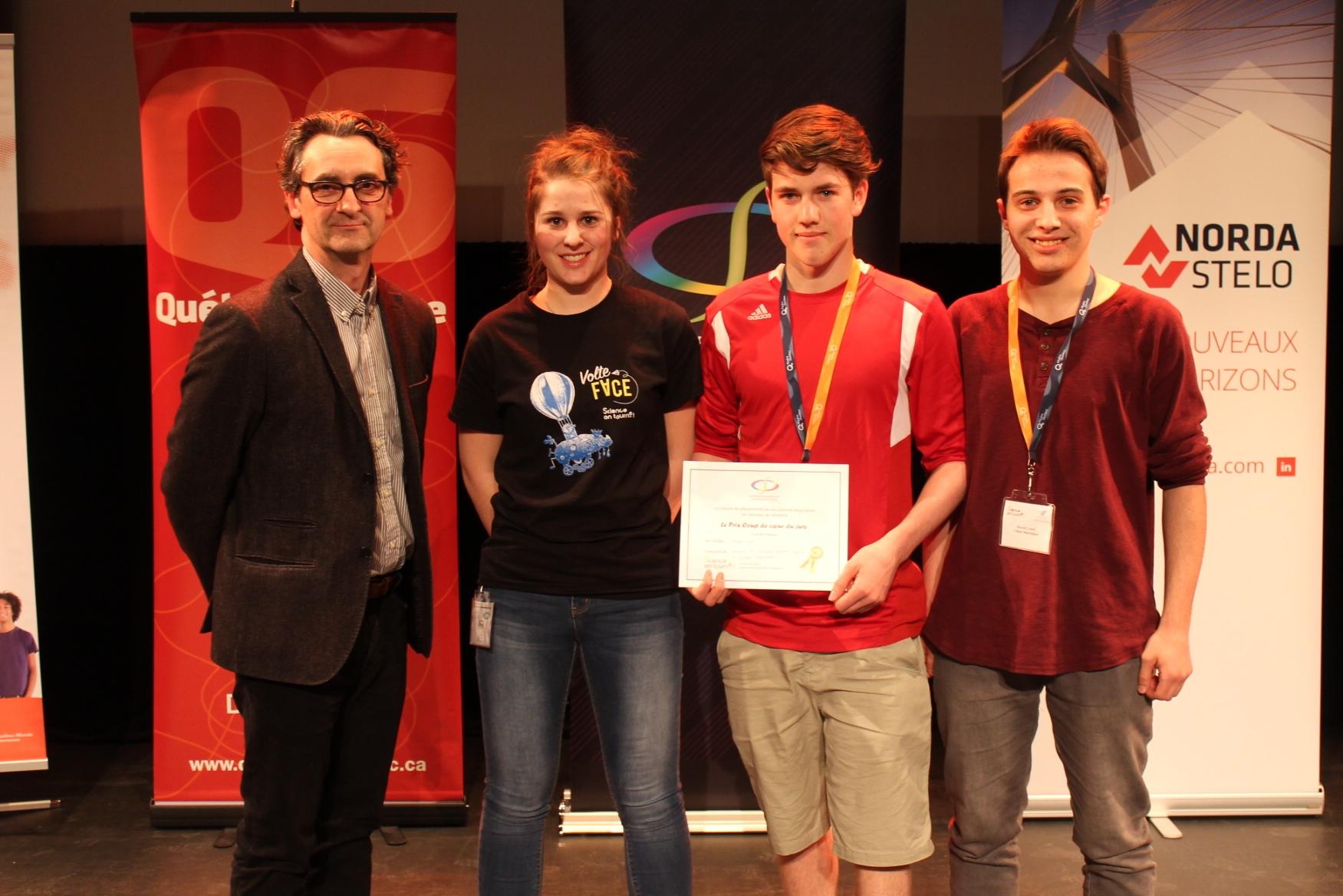College Shawinigan - Prix coup de coeur Jury